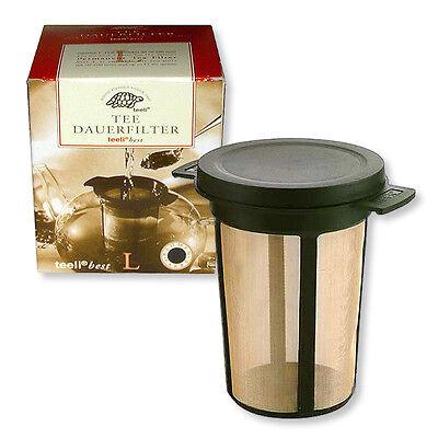 TeeDauerfilter L Dauerfilter für Tee Teefilter Teesieb Teenetz Kaffeedauerfilter
