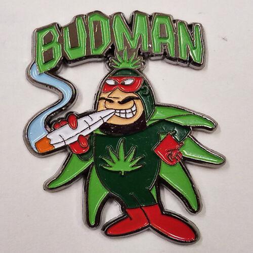 BUD MAN - HAT PIN - BRAND NEW - MARIJUANA POT WEED HP069
