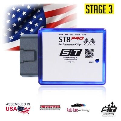 For Jeep Stage 3 Performance ECU Chip Tuner Fuel Racing Engine Speed Plug Play