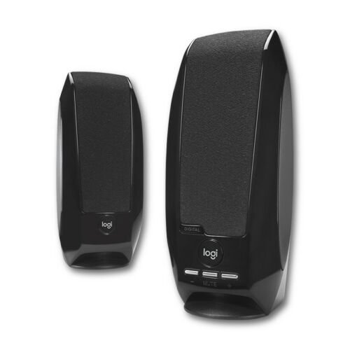 Logitech S150 Digital USB Stereo Computer Speakers - Black