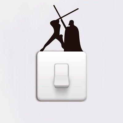 Star Wars Darth Vader Lightswitch Wall Sticker Vinyl DIY Home Decor Decals