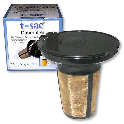 Kleiner Dauerfilter Teedauerfilter Teefilter Teesieb Teenetz Edelstahlfilter Tee