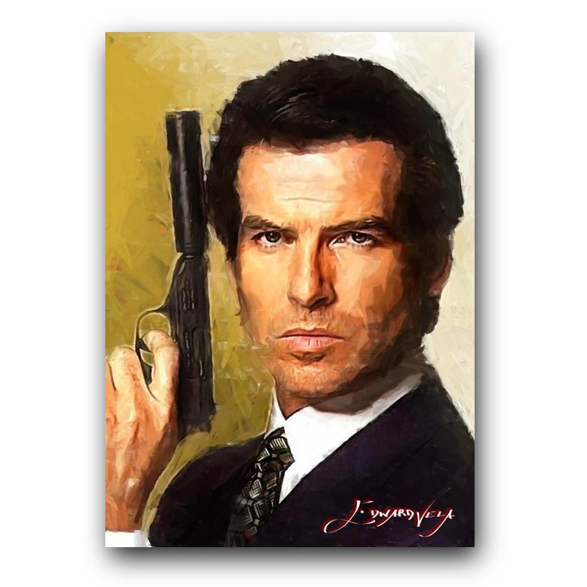 James Bond 14 Sketch Card Limited 12/50 Edward Vela Signed - $2.99