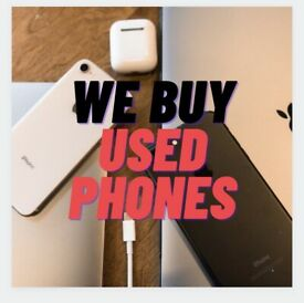 We buy used phones