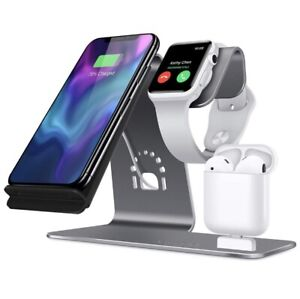 Qi charger iPhone, Apple Watch, AirPods