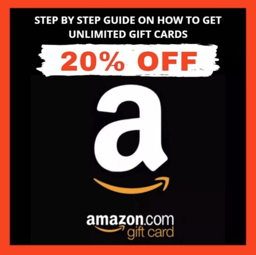 Amazon Gift Card 1- 1000 With 20- 30 Discount  - $0.99