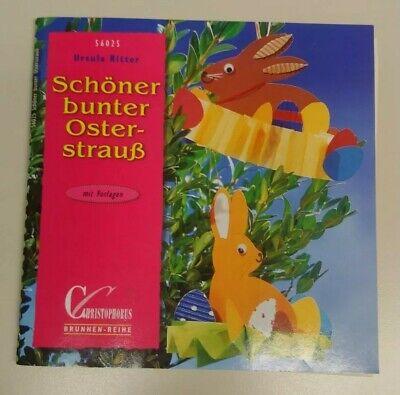 Bastelbuch Kinder Ostern - Schöner bunter Osterstrauch - Christopherus Brunnen