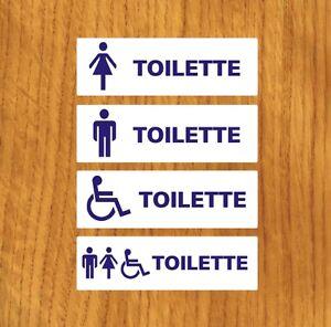 kit 4 targhette adesive per bagno,toilette,wc,superfici legno ... - Targhe Per Toilette