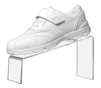 Clear Acrylic Slanted Shoe Stand Holder Display 9l X 4w X 5h