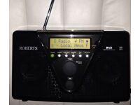 ROBERT DUOLOGIC BATTERY OPERATED RADIO