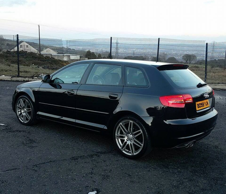 2010 audi a3 s line black edition 2 0tdi 170 in crumlin county antrim gumtree. Black Bedroom Furniture Sets. Home Design Ideas