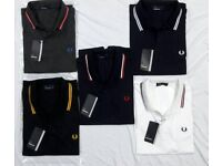 Brand New Fred Perry Polo Shirts