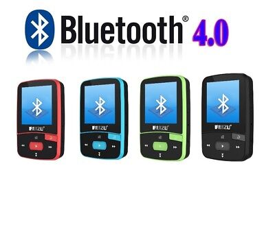 RUIZU X50 Mini MP3/MP4 Sport Player, 8 GB, Bluetooth, FM Radio,100 St Wiedergabe