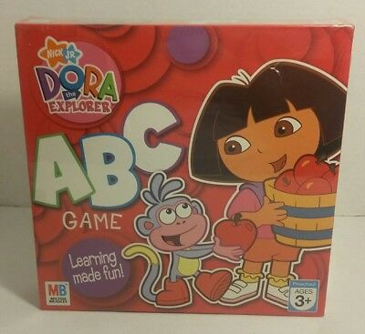 (Nick Jr Dora The Explorer ABC Board Game 1-4 players Ages 3+ NEW SEALED)