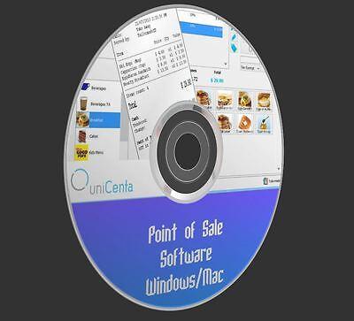 Point Sale System POS Bar Restaurant Retail Cash Register Touchscreen Software