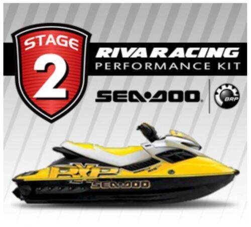 Seadoo 2004-2009 Rxp 215 Riva Stage 2 Kit 76+ Mph Xx-chrgr Kit W/ Solas Impeller