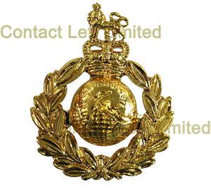 New-OFFICIAL-Royal-Marines-CAP-BADGE-Anodised-Beret-Commando-SBS-Marine