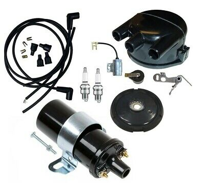 John Deere 50 60 70 Tractor Distributor Tune Up Kit With 12 Volt Coil