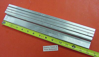 5 Pieces 38 X 1 Aluminum 6061 Flat Bar 14 Long T6511 Solid .375 Mill Stock