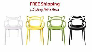 SALE - Philippe Starck Style Master Chair (Set of 4) Zetland Inner Sydney Preview