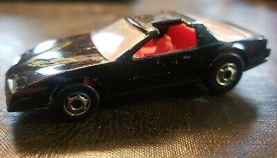 Hot Wheels '80's Firebird (Black Hot Ones) - LOOSE w/ Wear VHTF