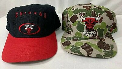 Chicago Bulls Camo Windy City Hat '47 Brand Snapback 2nd Hat/OFC/NBA Bulls Hat