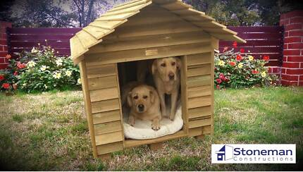 New Weatherproof Kennels. Keep your dog cool in summer!