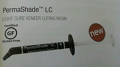 Permashade Lc B1 Light Cure Veneer Dental Cement Luting Resin Ultradent