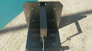 Yamaha outboard stainless steel oil tank bracket.