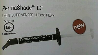 Permashade Lc Translucent Light Cure Veneer Dental Cement Luting Resin Ultradent