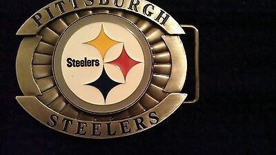(NFL STEELERS Pewter Belt Buckle )