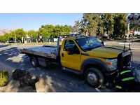 2012 Ford F-550 Rollback Wheel Lift Flatbed Towtruck Fully Loaded Jerrdan Bed