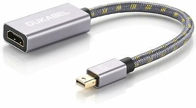 Mini Display Port Male to HDMI Female Cable Thunderbolt Gold Plated Mini DP HDMI for sale  Shipping to India
