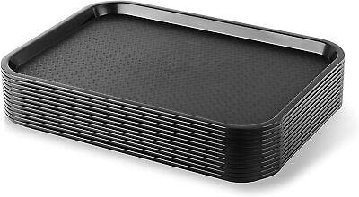Black Fast Food Trays 12 X 16 14 12 Pk.