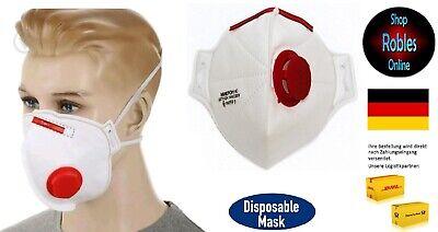 FFP3 Atemschutzmaske mit Ventil von MIKPOH Mundschutz OVP eingeschweißt