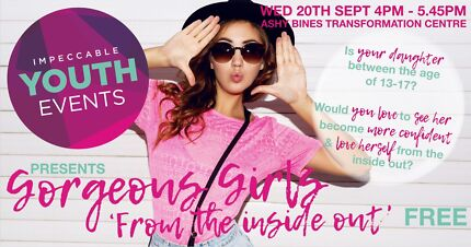 FREE EVENT FOR TEEN GIRLS on the Gold Coast