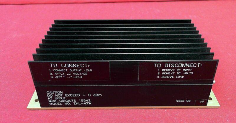 Mini-circuits ZHL-42W RF Amplifier 10-4200MHz 34dB