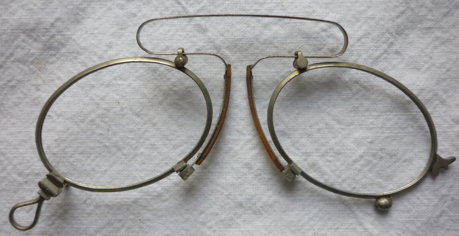 16. ZWICKER KNEIFER ohne Glas vor 1945 aus Optiker Nachlaß
