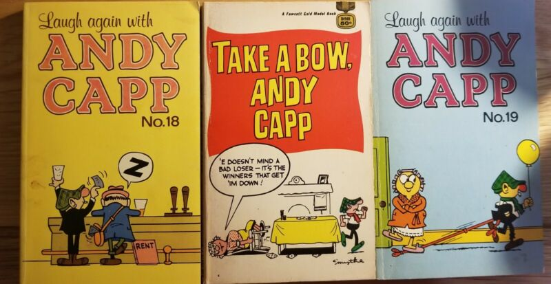 Lot Andy Capp Books Free Shipping!