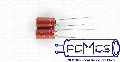 4 Pcs Elna For Audio Roa Cerafine 25v 22uf Hi-fi Made In Japan Capacitor Red Ver