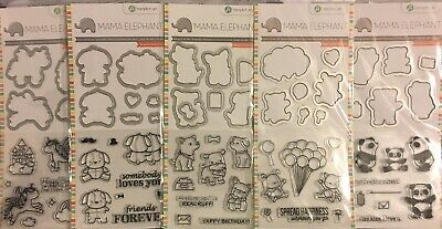 - Mama Elephant Stamp & Die Set LOT to pick from