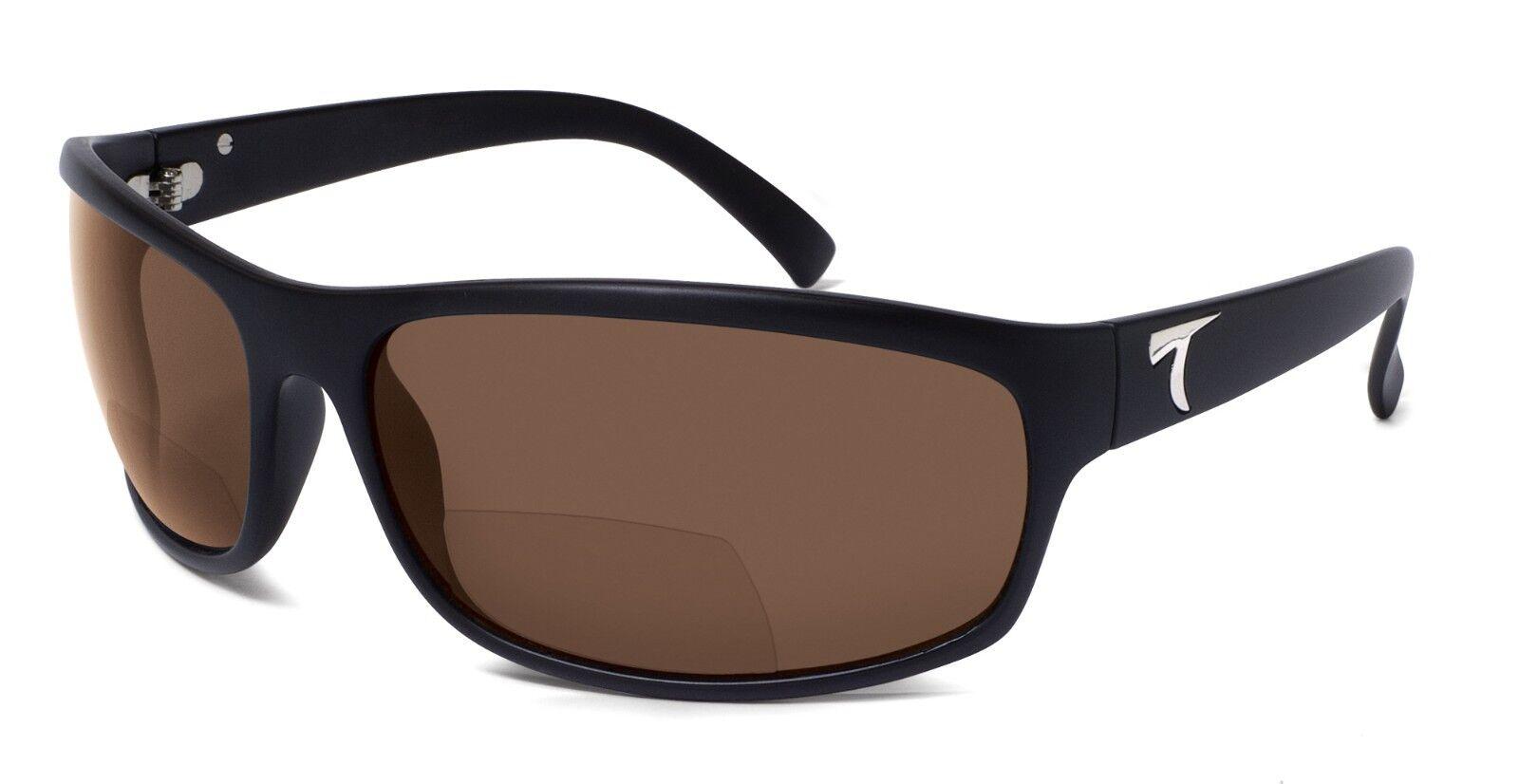 adc0896a5e6 HARBOR II Polarized Bifocal Reader Sunglasses - Matte Black   Horizon Grey
