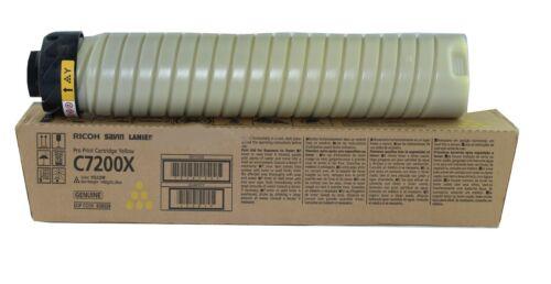 OEM Ricoh Pro C7200E Yellow Toner Cartridge 828529