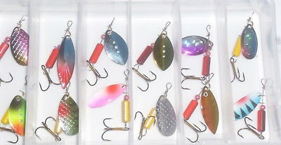 Thomas fighting fish 3//8 oz gold Spinning Fishing Lure Spinner Cuillères