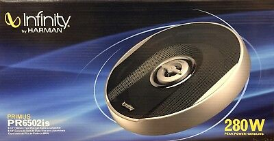 New Infinity Pr6502is Primus Series 6 1 2  2 Way Car Speakers   1 Pair