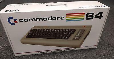 ** Commodore USA C64x Barebones w/Original Box, USB Keyboard, etc (C64) - NEW