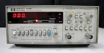 As-is - Agilent Hp 5316b Universal Counter