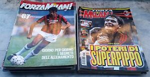 RIVISTA-FORZA-AC-MILAN-a-scelta-1991-1993-1994-1995-1996-1997-1998-MAGAZINE