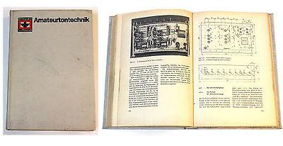 "Buch ""Amateurtontechnik"" DDR"