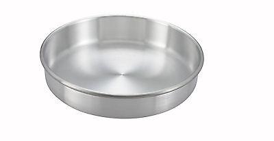 Winco Acp-092 9x2-inch Aluminum Layer Cake Pan